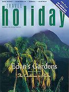 Travel Holiday, Caribbean, Eden's Gardens. Cover