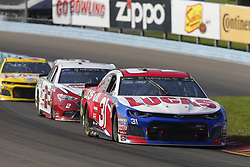 August 5, 2018 - Watkins Glen, New York, United States of America - Ryan Newman (31) brings his car through the turns during the Go Bowling at The Glen at Watkins Glen International in Watkins Glen , New York. (Credit Image: © Chris Owens Asp Inc/ASP via ZUMA Wire)