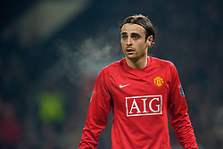 MANCHESTER, ENGLAND - Monday, December 29, 2008: Manchester United's Dimitar Berbatov during the Premiership match at Old Trafford. (Photo by David Rawcliffe/Propaganda)