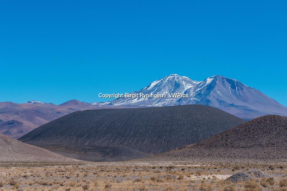 Andean volcanic landscap, Atacama, Chile