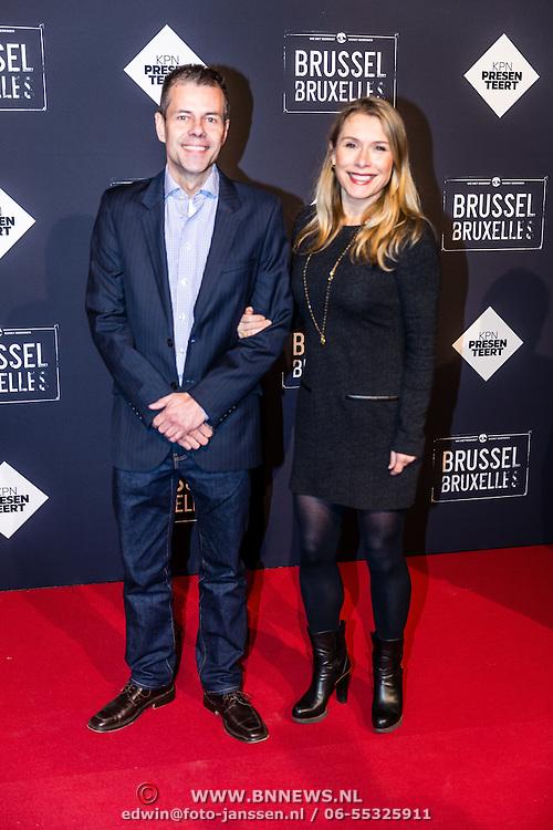 NLD/Amsterdam/20170119 - Premiere Brussel, Elle van Rijn en ..........