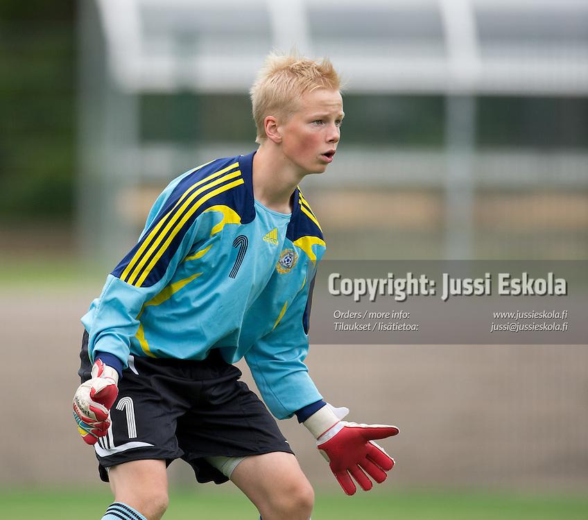 Johannes Luukkanen. Allstars-ottelu. Piirijoukkue-cup. Pojat. Eerikkilä 16.6.2013. Photo: Jussi Eskola