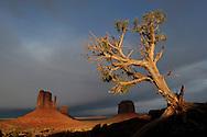 Storm over Monument Valley Navajo Tribal Park, Utah\Arizona, USA
