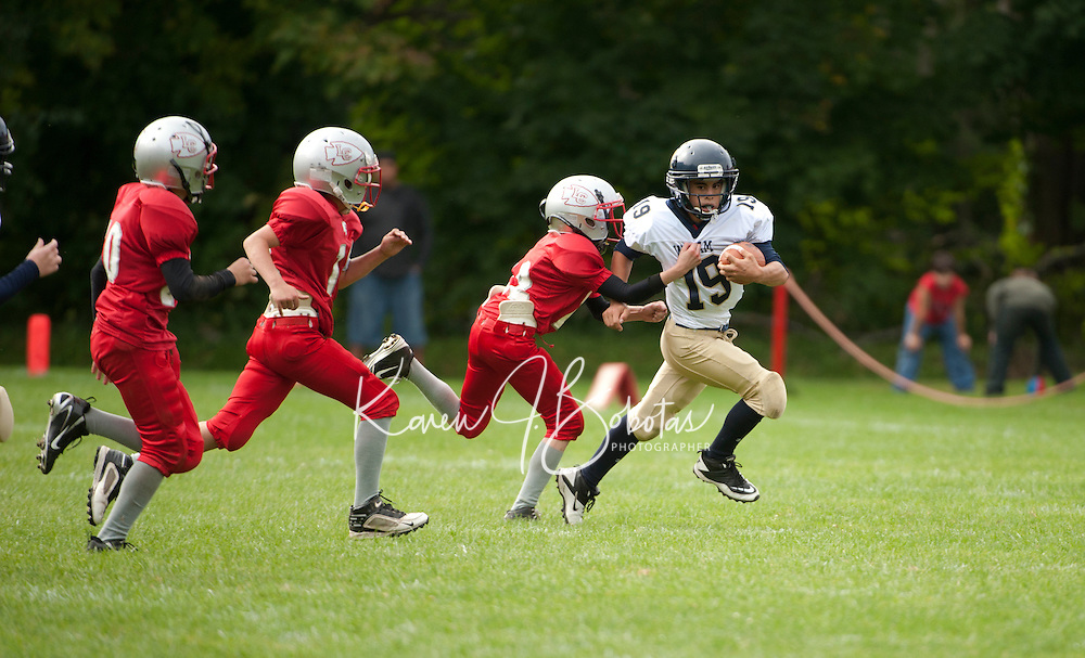 U6 Laconia Chiefs versus Windham September 18, 2011.