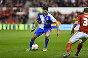 Blackburn Rovers Midfielder Ben Marshall (10) during the Sky Bet Championship match between Nottingham Forest and Blackburn Rovers at the City Ground, Nottingham, England on 19 April 2016. Photo by Jon Hobley.