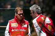 April 10-12, 2015: Chinese Grand Prix - Sebastian Vettel (GER), Ferrari, Maurizio Arrivabene, team principal of Scuderia Ferrari