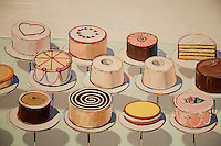 National Gallery, Washington DC. Painting of cakes by Claus Olenberg.