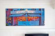 Candy Kitchen Print 35x76, Pleximount