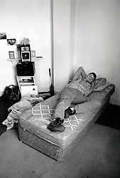 Homeless hostel, Nottingham UK 1989