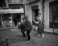 Street Photographers or Poparazzi. Image taken with a Leica CL camera and 23 mm f/2 lens (ISO 200, 23 mm, f/3.5, 1/250 sec).