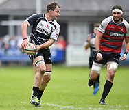 Pontypridd's Rhys Shellard<br /> Cross Keys v Pontypridd RFC<br /> <br /> Photographer Mike Jones / Replay Images<br /> Pandy Park, Cross Keys.<br /> Wales - 12th May 2018.<br /> <br /> Cross Keys v Pontypridd RFC<br /> Principality Premiership<br /> <br /> World Copyright © Replay Images . All rights reserved. info@replayimages.co.uk - http://replayimages.co.uk