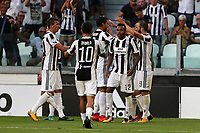 19.08.2017 - Torino - Serie A 2017/18 - 1a giornata  -  Juventus-Cagliari nella  foto: l'esultanza dei giocatori della Juventus