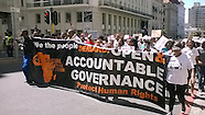 Cape Town - Civil Society Organisations March in Cape Town - 01 Nov 2016