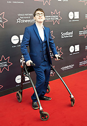 Premiere of Eaten by Lions directed by Jason Wingard at the Edinburgh International Film Festival<br /> <br /> Pictured:Jack Carroll