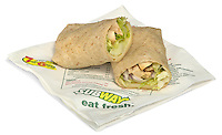 chicken wrap from subway