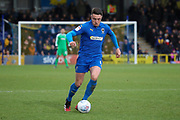 AFC Wimbledon midfielder Anthony Hartigan (8) \d during the EFL Sky Bet League 1 match between AFC Wimbledon and Blackpool at the Cherry Red Records Stadium, Kingston, England on 22 February 2020.