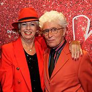 NLD/Amsterdam/20191111 - Premiere Kinky Boots, Jacques d'Ancona en Ria Valk