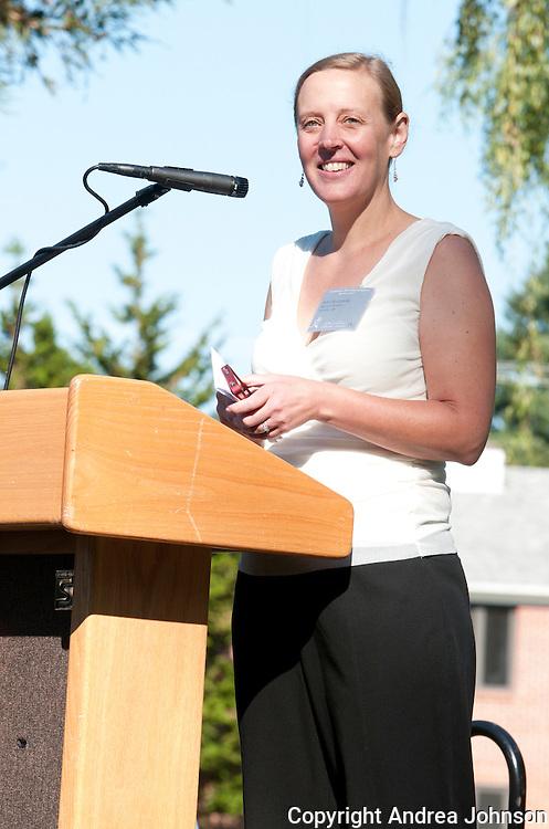 Anna Matzinger, master of ceremonies at 2011 IPNC