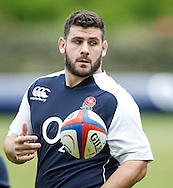 Picture by Andrew Tobin/Tobinators Ltd +44 7710 761829.24/05/2013.Rob Webber who captains England during the England training session at Pennyhill Park, Bagshot ahead of the match against the Barbarians on 26th May 2013.