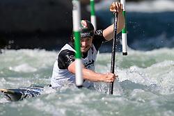 Raffaello IVALDI of Italy during the Canoe Single (C1) Men SemiFinal race of 2019 ICF Canoe Slalom World Cup 4, on June 28, 2019 in Tacen, Ljubljana, Slovenia. Photo by Sasa Pahic Szabo / Sportida