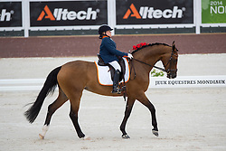 Demi Vermeulen, (NED), Vaness - Team Competition Grade II Para Dressage - Alltech FEI World Equestrian Games™ 2014 - Normandy, France.<br /> © Hippo Foto Team - Jon Stroud <br /> 25/06/14