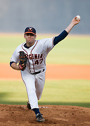 Virginia Cavaliers LHP Jeff Lorick (47)/  The #16 ranked Virginia Cavaliers baseball team faced the William and Mary Tribe at the University of Virginia's Davenport Field in Charlottesville, VA on April 23, 2008.