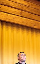 11.11.2015, Stanglwirt, Going, AUT, Wladimir Klitschko, Pressekonferenz, Kampfvorbereitung gegen Tyson Fury (GBR), im Bild der WBA, WBO, IBO und IBF-Schwergewichts-Box-Weltmeister Wladimir Klitschko (UKR) // the Ukrainian WBA, WBO, IBO and IBF heavyweight boxing world champion Wladimir Klitschko during a pressconference at the Stanglwirt in Going, Austria on 2015/11/11. Klitschko will be challenged by British boxer Tyson Fury for the world heavyweight crown in Duesseldorf, Germany on 28 November 2015. EXPA Pictures © 2015, PhotoCredit: EXPA/ JFK