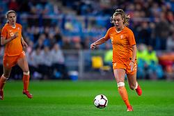 05-04-2019 NED: Netherlands - Mexico, Arnhem<br /> Friendly match in GelreDome Arnhem. Netherlands win 2-0 / Jill Roord #12 of The Netherlands