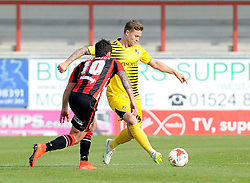 James Clarke - Mandatory byline: Neil Brookman/JMP - 07966 386802 - 03/10/2015 - FOOTBALL - Globe Arena - Morecambe, England - Morecambe FC v Bristol Rovers - Sky Bet League Two