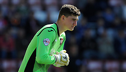 Exeter Cit's James Hamon - Photo mandatory by-line: Harry Trump/JMP - Mobile: 07966 386802 - 06/04/15 - SPORT - FOOTBALL - Sky Bet League Two - Exeter City v Newport County - St James Park, Exeter, England.