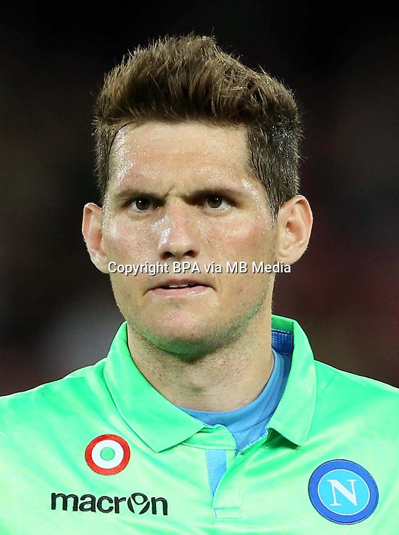 Italian League Serie A -2014-2015 / <br /> ( Ssc Napoli ) - <br /> Rafael Cabral Barbosa