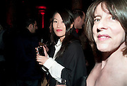 NORIKA CHIKAMORI; ANNA JACKSON, Yohji Yamamoto exhibition opening. V & A Museum. London. 10 March 2011. -DO NOT ARCHIVE-© Copyright Photograph by Dafydd Jones. 248 Clapham Rd. London SW9 0PZ. Tel 0207 820 0771. www.dafjones.com.