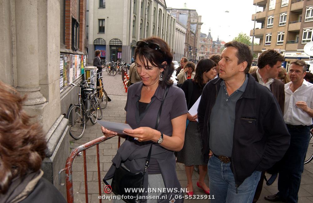 Uitreiking Bert Haantra Oeuvreprijs 2004,