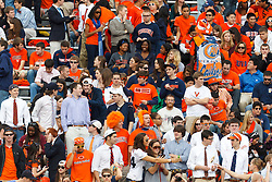 Nov 26, 2011; Charlottesville VA, USA;  General view of Virginia Cavaliers fans in the stands before the game against the Virginia Tech Hokies at Scott Stadium.  Virginia Tech defeated Virginia 38-0. Mandatory Credit: Jason O. Watson-US PRESSWIRE