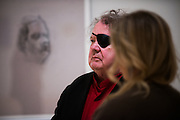 Dale Chihuly visits Gonzaga's campus in time for the Senior Art Exhibition. <br />