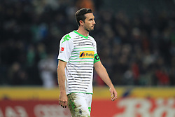 07.02.2014, Borussia Park, Moenchengladbach, GER, 1. FBL, Borussia Moenchengladbach vs Bayer 04 Leverkusen, 20. Runde, im Bild Martin Stranzl (Borussia Moenchengladbach #39) verlaesst enttaeuscht das Spielfeld nach der Niederlage gegen Leverkusen // during the German Bundesliga 20th round match between Borussia Moenchengladbach and Bayer 04 Leverkusen at the Borussia Park in Moenchengladbach, Germany on 2014/02/07. EXPA Pictures © 2014, PhotoCredit: EXPA/ Eibner-Pressefoto/ Schueler<br /> <br /> *****ATTENTION - OUT of GER*****
