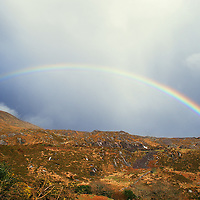 Rainbow at Derrynane/Caherdaniel, County Kerry, Ireland. / rb009