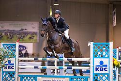Caluwe Mario, BEL, Valentina DH Z<br /> Klasse Midden<br /> Nationaal Indoor Kampioenschap Pony's LRV <br /> Oud Heverlee 2019<br /> © Hippo Foto - Dirk Caremans<br /> 09/03/2019