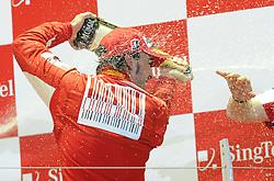 26.09.2010, Marina Bay Street Circuit, Singapur, SIN, Formula One Championship, Grand Prix Singapur, im Bild Scuderia Ferrari, EXPA Pictures © 2010, PhotoCredit: EXPA/ InsideFoto/ Hasan BRATIC *** ATTENTION *** FOR AUSTRIA AND SLOVENIA USE ONLY!