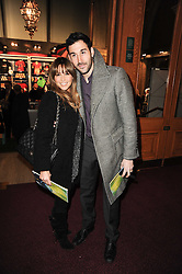 Singer RACHEL STEVENS and her husband ALEX BOURNE at the gala opening night of Cirque du Soleil's Varekai at the Royal Albert Hall, London on 5th January 2010.