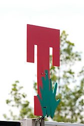 "A ""T"" sign..T in the Park images from Saturday 11th July, 2009."