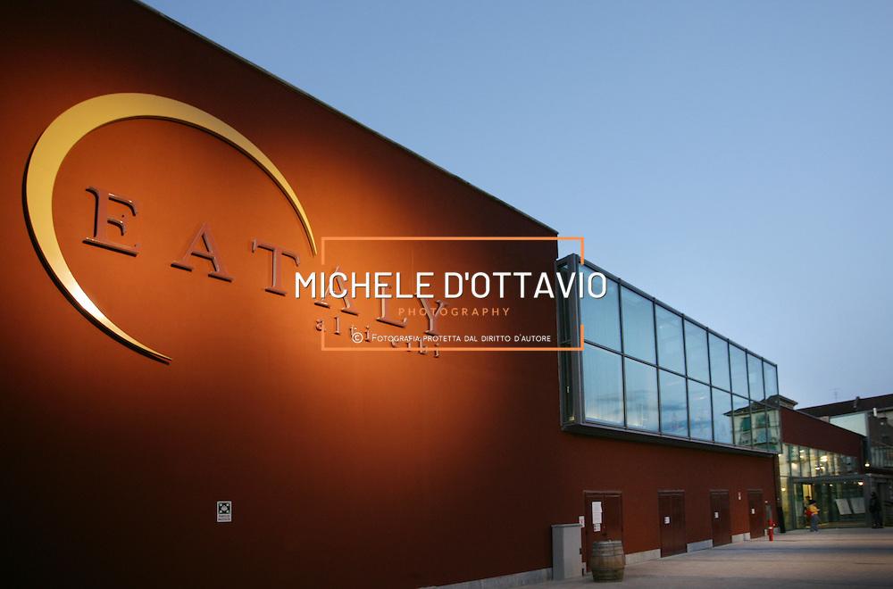 Torino Eataly è all'interno dell'ex stabilimento Carpano al Lingotto.fotografia di  Michele D?Ottavio