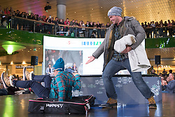 07.10.2016, Europapark, Salzburg, AUT, Praesentation der OeSV Winterkollektion, im Bild Nicole Schmidhofer, Vincent Kriechmayr // Nicole Schmidhofer, Vincent Kriechmayr during Fashion Show of the Presentation of OeSV winter collection of Austrian Ski Federation OeSV at the Europapark in Salzburg, Austria on 2016/10/07. EXPA Pictures © 2016, PhotoCredit: EXPA/ Johann Groder