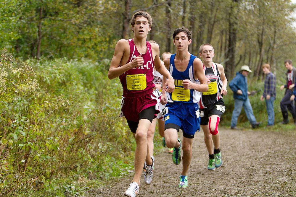 Festival of Champions High School Cross Country meet, Cooper Holmes, Ellsworth