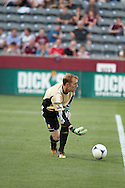 July 24th, 2012:  Swansea City AFC goalkeeper Gerhard Tremmel (25) as the Colorado Rapids host Swansea City AFC for a international friendly soccer match in Denver, CO.
