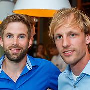 NLD/Amsterdam/20180511 - Boekpresentatie Henri Schut genaamd Topfit, Daan Breeuwsma en Ronald Mulder