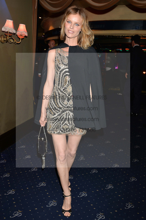 EVA HERZIGOVA at The Hoping Foundation's 'Starry Starry Night' Benefit Evening For Palestinian Refugee Children held at The Cafe de Paris, Coventry Street, London on 19th June 2014.