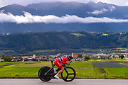 Silje Mathisen (Norway) during the 2018 UCI Road World Championships, Women Juniors Individual Time Trial 20 km on September 24, 2018 in Innsbruck, Austria - Photo Dario Belingheri / BettiniPhoto / ProSportsImages / DPPI