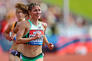 Rosie CLARKE of Great Britain & NI in the Women's 3000m Steeplechase during the Muller Grand Prix at Alexander Stadium, Birmingham, United Kingdom on 18 August 2019.