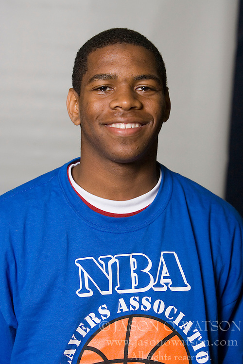 Terrell Holloway..The National Basketball Players Association held a camp for the Top 100 high school basketball prospects at the John Paul Jones Arena at the University of Virginia in Charlottesville, VA from June 20, 2007 through June 23, 2007.